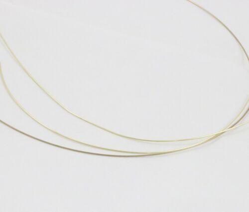 SOLDER 14K Plumb Yellow Gold wire Ex-Easy Easy Medium 22 Gauge Round