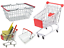 Children-039-s-Mini-Metal-Shopping-Trolley-amp-Basket-Pretend-Role-Play-Kids-Toy thumbnail 2