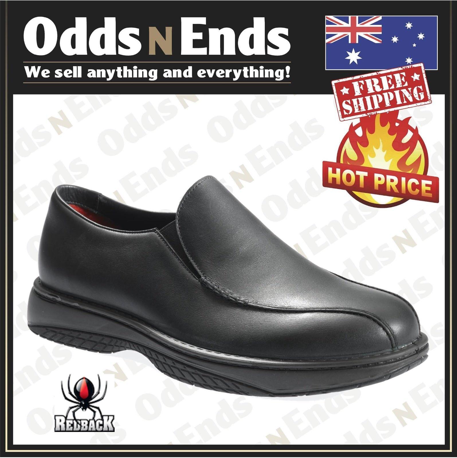 RCBN CHEF    rossoack Work stivali , Non Safety Soft Toe, nero Slip-On scarpe Quality 64216a