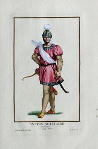 Normanne-Pfeil-Bogenschutze-Kocher-Sabel-Helm-Harnisch-Archer-Norman-England