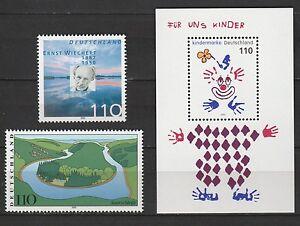 BRD, Michel 2132, 2133, 2134 als Block 53, postfrisch - Marne, Deutschland - BRD, Michel 2132, 2133, 2134 als Block 53, postfrisch - Marne, Deutschland