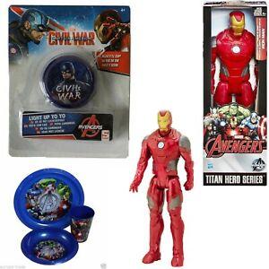 MARVEL-12-034-Figure-YOYO-BOWL-amp-TUMBLER-CUP-Avengers-Iron-Man-Endgame-Infinity-War