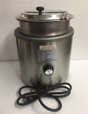 Sk 7 Chilli Soup Warmer Soup Kettle With 7 Qt Inset Hinged Lid Amp Ladle