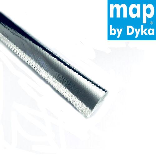 0,5 m Hitzeschutzschlauch ID16 mm Kettelnaht 800°C Kabelschutz Thermo Schlauch