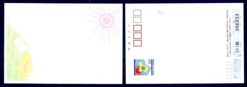 JAPAN - GIAPPONE - Intero post. - 1997 - 50 (Y) Sole, maglietta,