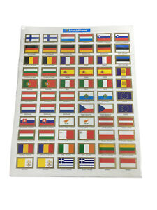 EU-flag-Stickers-Coin-Collection-Label-Leuchtturm-321082-Collector-Accessories