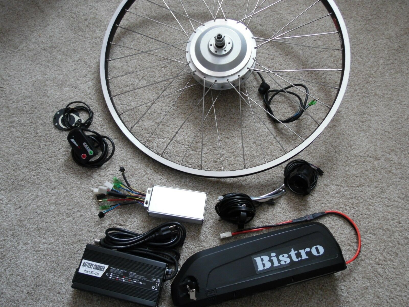 Bistro electric bike 29  disc motor 48V 1400W  Max hill climber  17ah battery  quality assurance