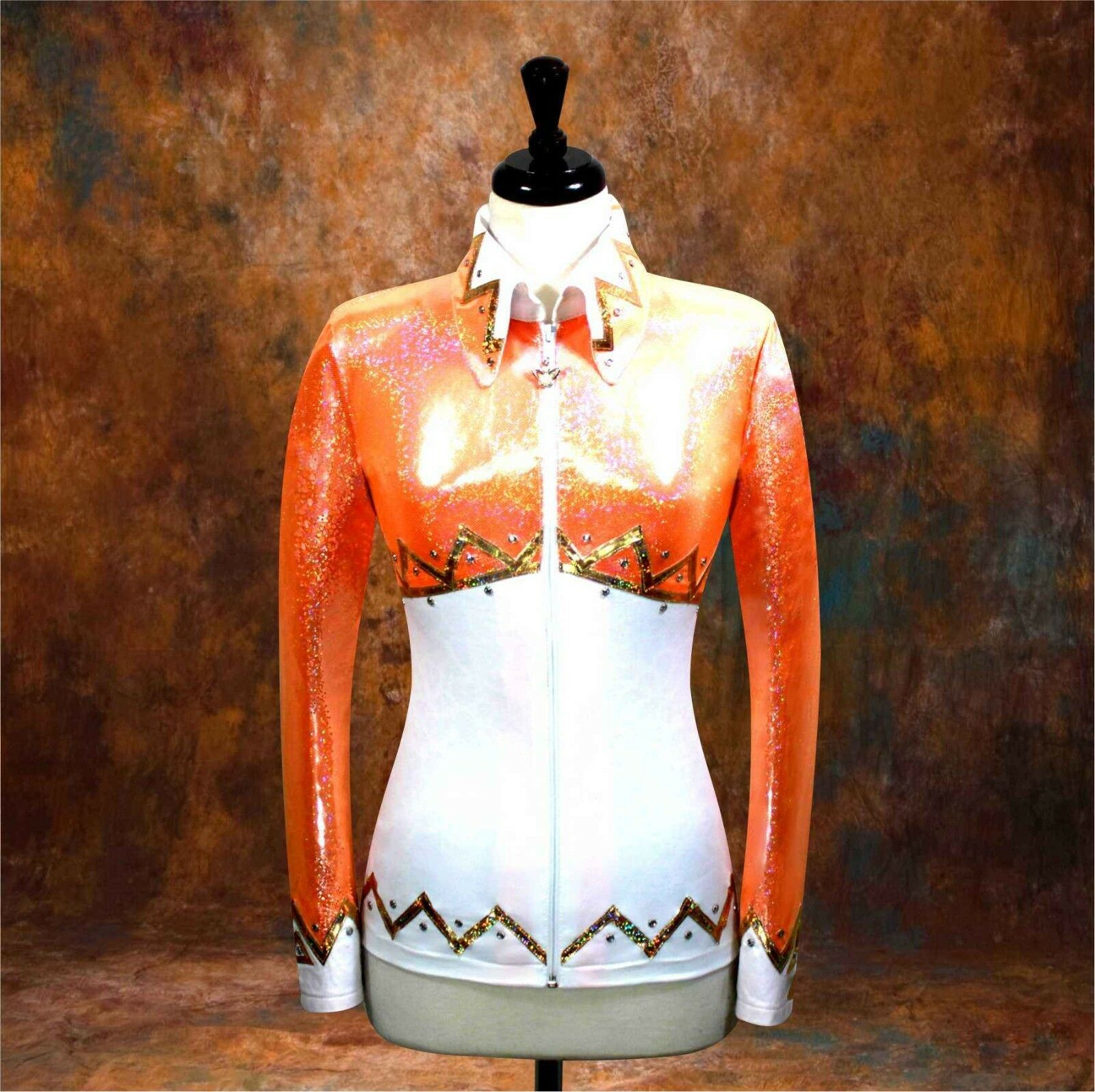 3X-Grande  teatralidad placer Equitación Chaqueta Camisa Camisa Camisa Rodeo ferrocarril oeste de Show afb105