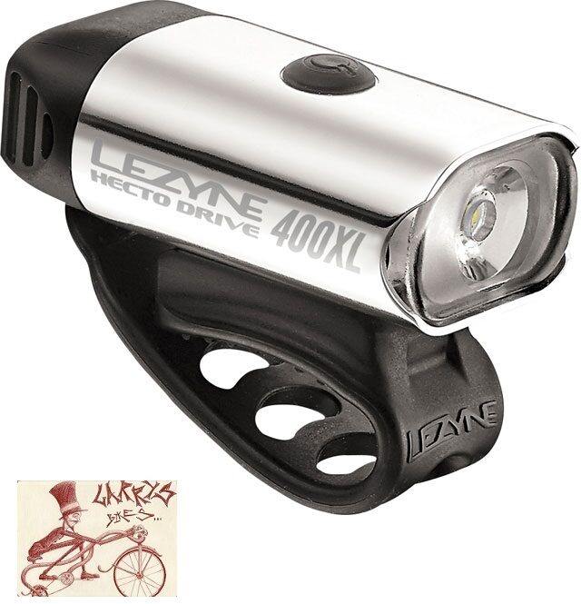 LEZYNE HECTO DRIVE 400XL POLISH BICYCLE HEADLIGHT