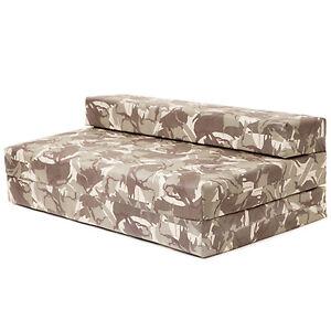 Image Is Loading Double Sofa Bed Desert Camouflage Z Foam Fold