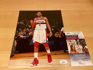 John-Wall-Washington-Wizards-Beal-Autographed-Signed-8X10-Photo-JSA-COA