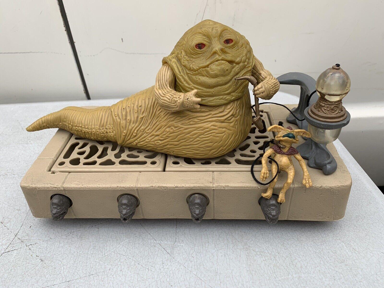 Estrella Wars Vintage  Jabba The Hutt trono Conjunto de Juego  COMPLETO RARO Lili Ledy