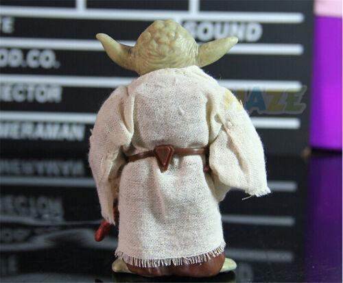 Anime Star Wars The Force Awakens Jedi Master Yoda PVC Action Figure Toy 13cm