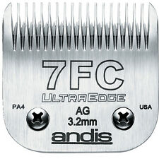 "ANDIS DOG GROOMING 7 FC CLIPPER BLADE. 3.2mm, 1/8""."