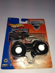 2003-Hot-Wheels-Monster-Jam-Jurassic-Attack-20-MOC-new