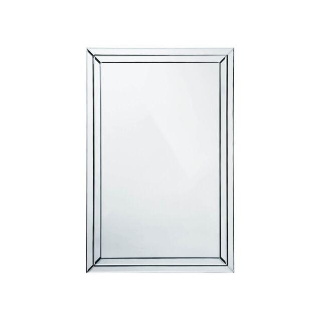 Premier Housewares 60 X 90 Cm Wall Mirror Bevelled Clear Edge