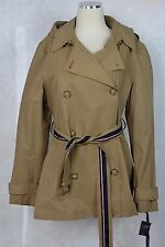 Tommy Hilfiger  size XL   Hooded Short Trench Coat   NWT