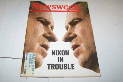 10131969 NEWSWEEK magazine NIXON UNREAD