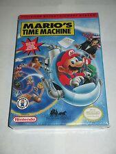 Mario's Time Machine (Nintendo NES, 1994) NEW Factory Sealed