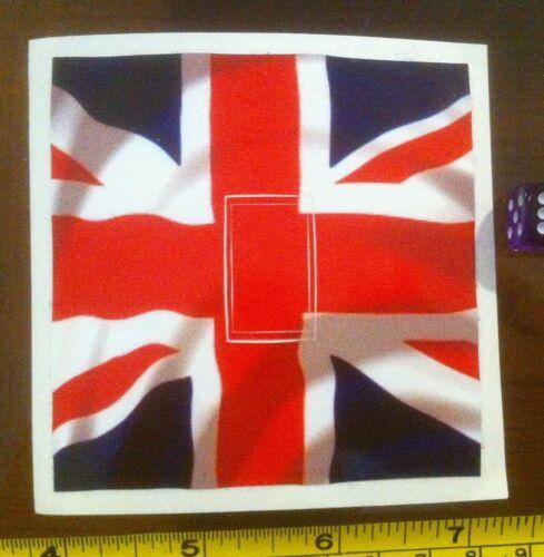 UK British Flag Britain Motif Fun Home Decor Single Light Switch Sticker Cover