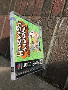 Details about Harvest Moon Back to Nature Sony PlayStation PS1 2000 NEW  SEALED Rip Seal Back