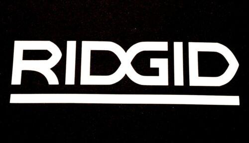 NEW RIDGID TOOLS DECAL STICKER FORD F150 CHEVY SILVERADO DODGE RAM TOYOTA TACOMA