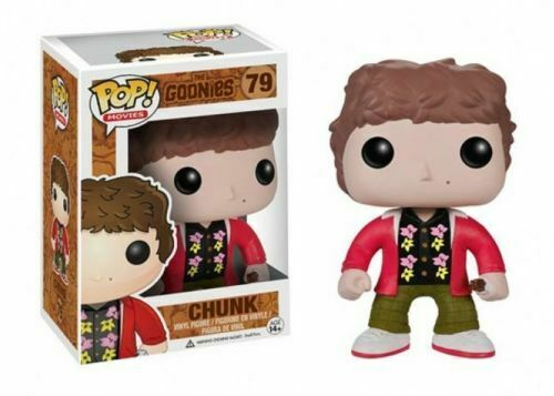 RARE & Vaulted Chunk divertiessitoko Pop Vinyl nuovo in Mint scatola with Prossoector