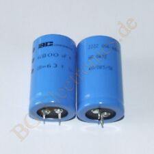 1 x 6800µF 6800uF 63V 85° Snap In RM10 Elko Kondensator E-Cap 30x50mm BC 1pcs