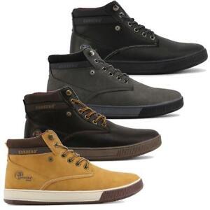 CARRERA-JEANS-Scarpe-uomo-Sneakers-alte-RONNIE-stivaletti-anfibi-Nuovi-Arrivi-DD