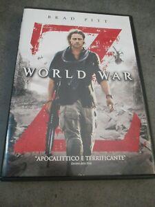 WORLD WAR Z - BRAD PITT - DVD