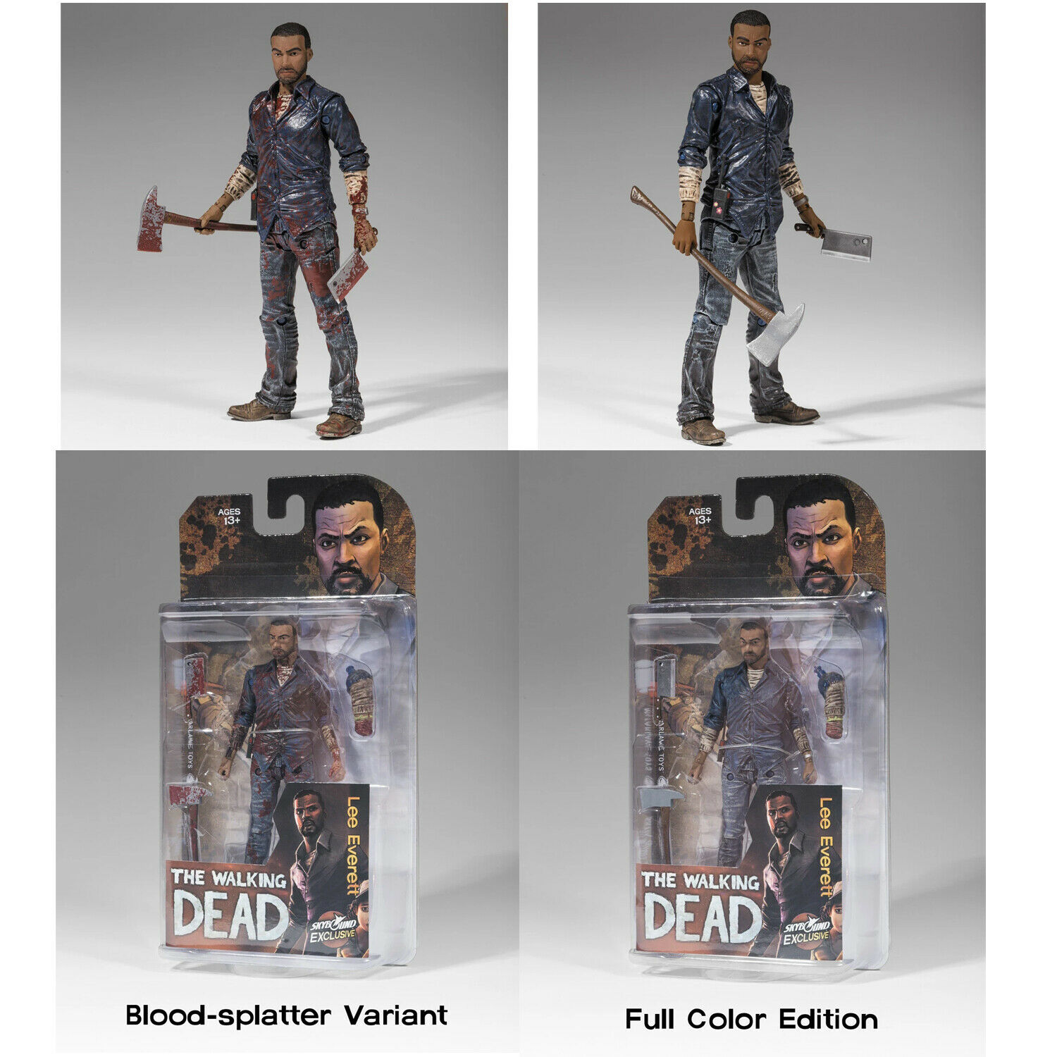 ANDREA LIMITED EDITION SKYBOUND EXCLUSIVE MOC THE WALKING DEAD COLOUR VERSION