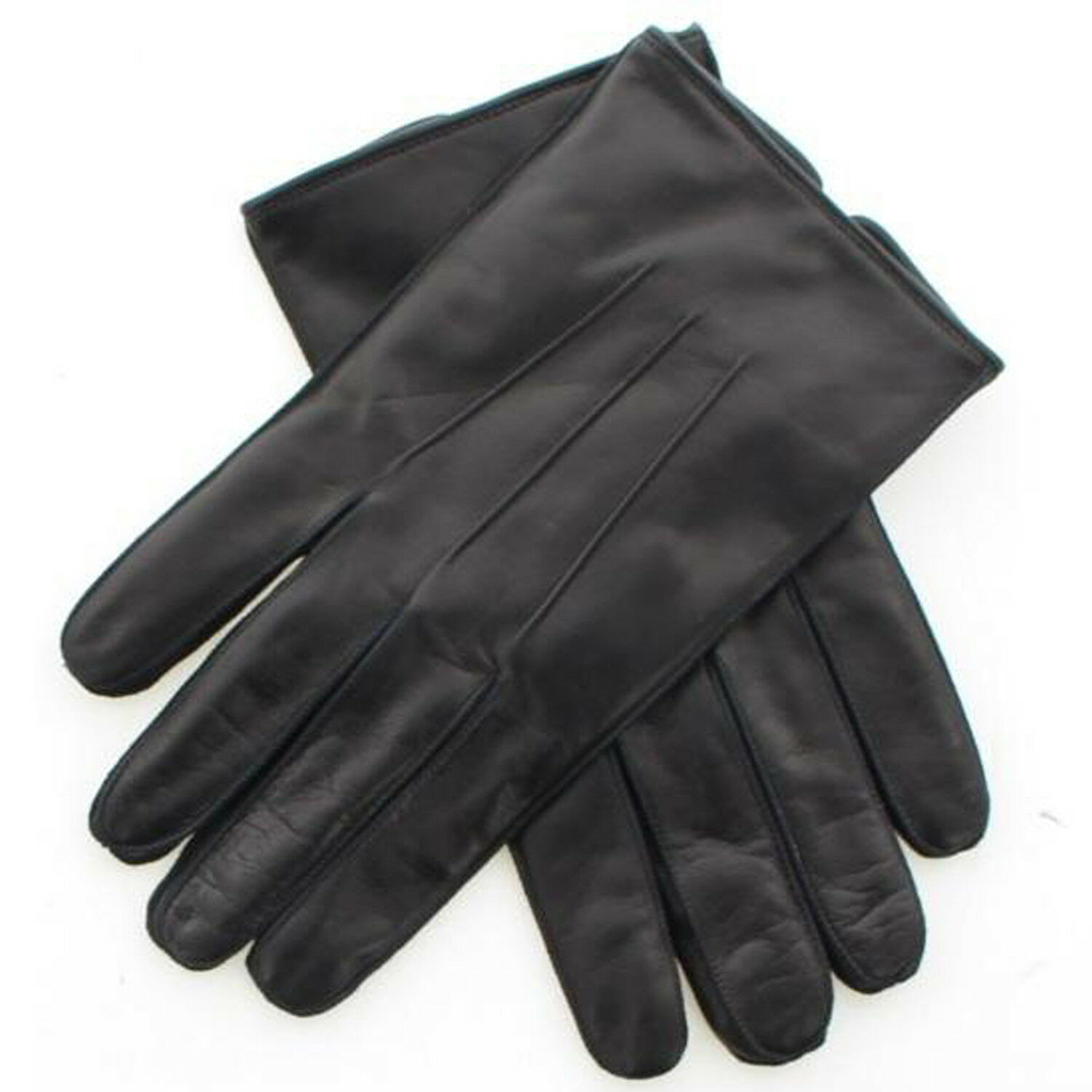 d05ea7ebe0e3d Coach 82863 Men's Nappa Leather Basic Winter Driving Gloves, Cashmere Lined  $128 for sale online