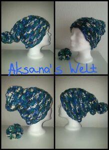 Neuf-Billabong-Bonnet-Langmutze-Femme-Fille-Enfants-Turquoise-Pom-Polyacrylique