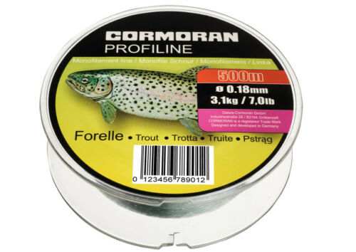 Cormoran Profiline Monofile Schnur Zielfisch Forelle