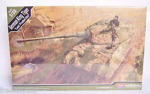 Academy WW2 WWII Nazi German King Tiger B II Last Production Tank 1//35 Model Kit