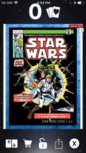 Topps Star Wars Digital Card Trader Solo Comic Art Qi'Ra Insert