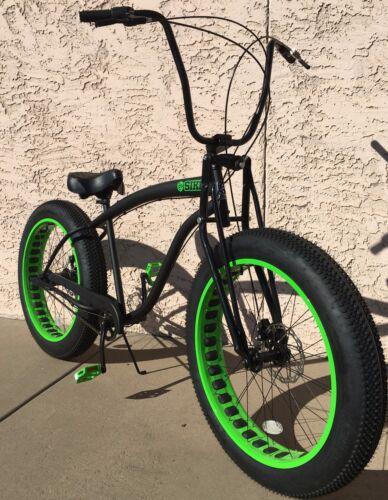 SPRINGER personnalisée Fourche-Fat Tire Bikes-Neuf à partir de Sikk bicyclettes pneus environ 10.16 cm 4 in
