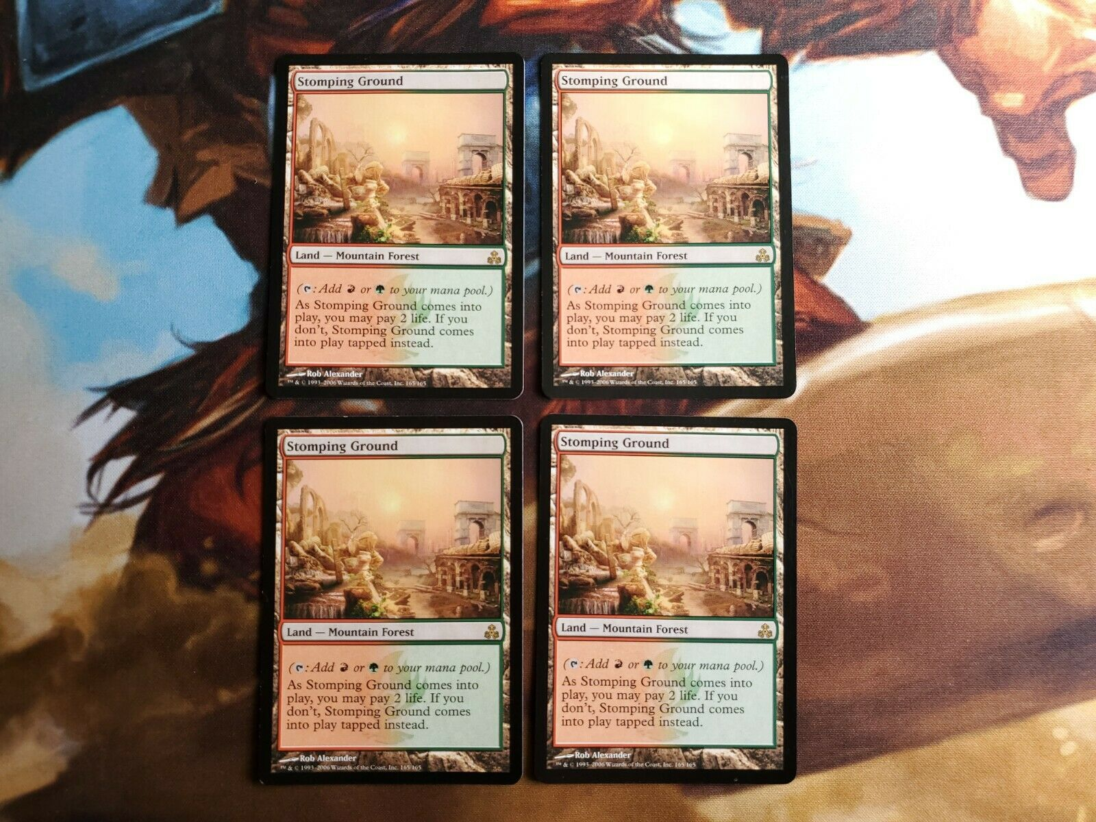 Foil MTG NM Thunderheads Guildpact