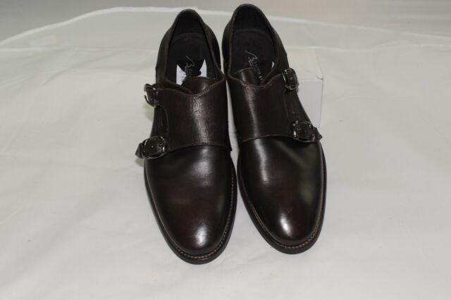 $275 NWOT Mezlan Bacco Bucci Men's Double Monk Strap Dress Shoes 9 D Made Italy