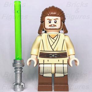 New-Star-Wars-LEGO-Qui-gon-Jinn-Jedi-Master-Phantom-Menace-Minifigure-75169