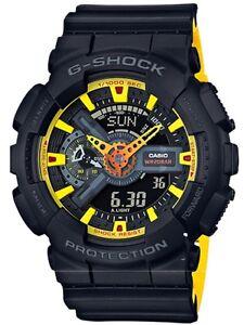 Casio G-Shock *GA110BY-1A Anadigi Layered Black & Yellow Gshock COD PayPal