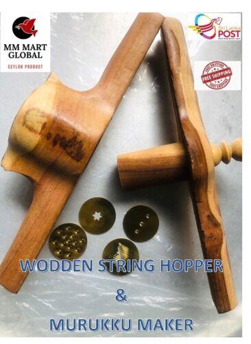 Maker String Hopper Wooden Idiyappam Murukku Sevai Noodle Tray Traditional