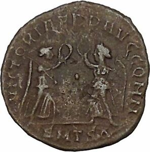 CONSTANTIUS-II-son-of-Constantine-the-Great-Ancient-Roman-Coin-Victory-i42754