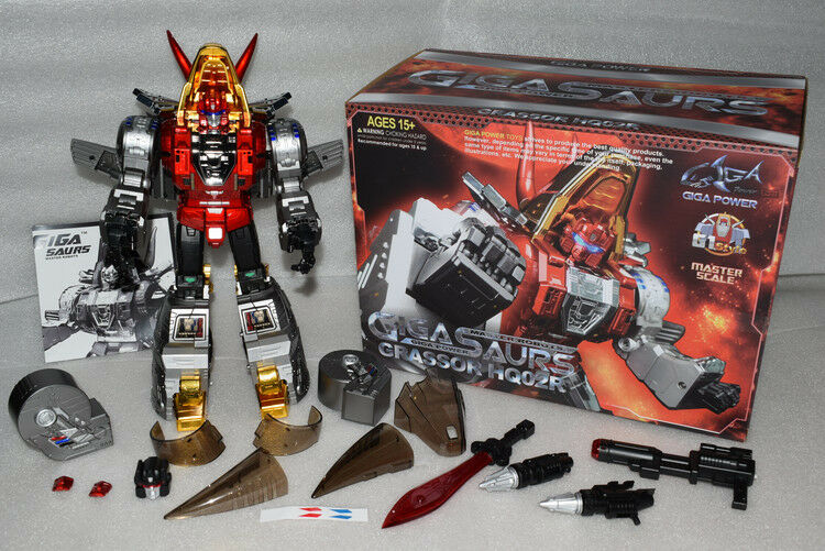 Transformers Gigapower GP HQ- 02R Grassor MP Slag MP GRADE