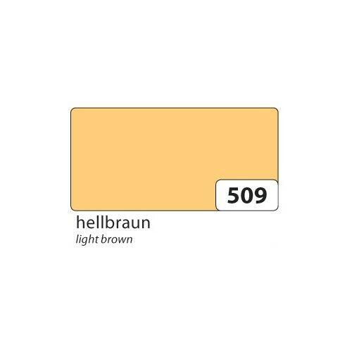 10 Bogen folia 65509 Plakatkarton 380g//m² 48x68cm hellbraun