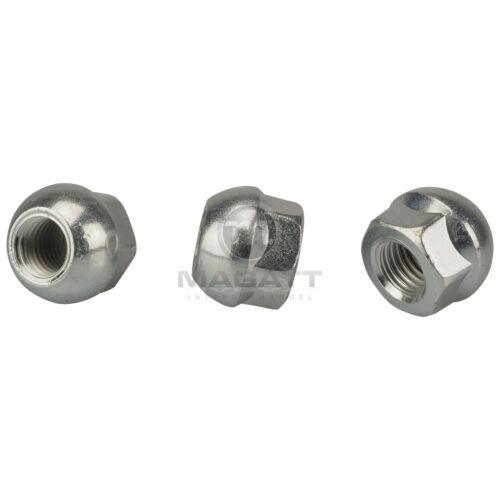 20 tuercas de rueda a ORIG acero-y llantas de aluminio Honda Civic VII IX //// Type R ep3 fn2