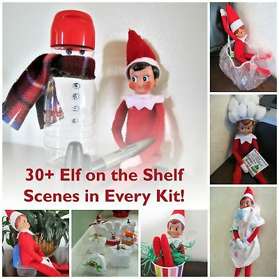ELF ON THE SHELF  34+ days planned out for you in a kit form - All new for 2017!