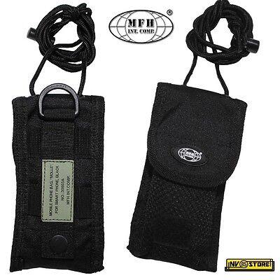Tasca Porta Cellulare Smartphone Coltello Folding MOLLE MFH da Cintura SOFTAIR O