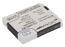 BATTERIA agli ioni di litio per canondigital PowerShot D10 IXY Digital 110 IS PowerShot sd350