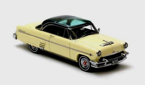 Maravilloso Ford Mercury Monterey Ht Coupe 1954-lightgiallo darkverde - 1 43